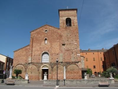 La Cathédrale de San Vicinio à Sarsina