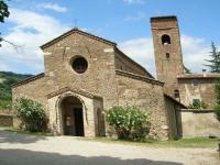 L'église paroissiale San Giovanni Battista (Pieve Tho) à Brisighella