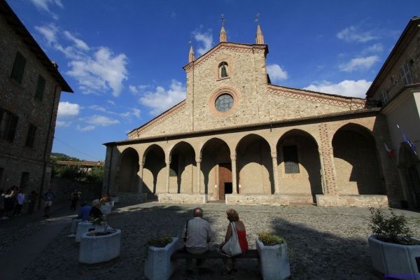 The Abbey of San Colombano at Bobbio