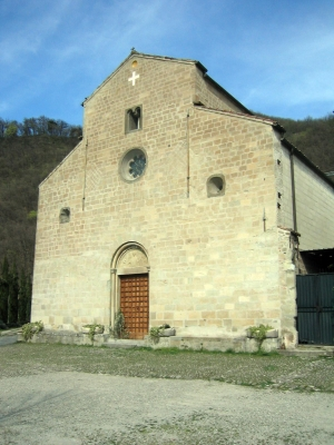 L'église paroissiale de San Lorenzo di Panico