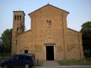 The Basilica of San Pietro in Sylvis