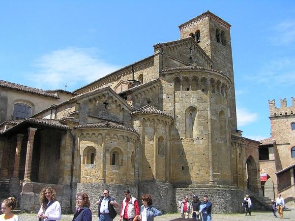 The collegiate of Santa Maria Assunta