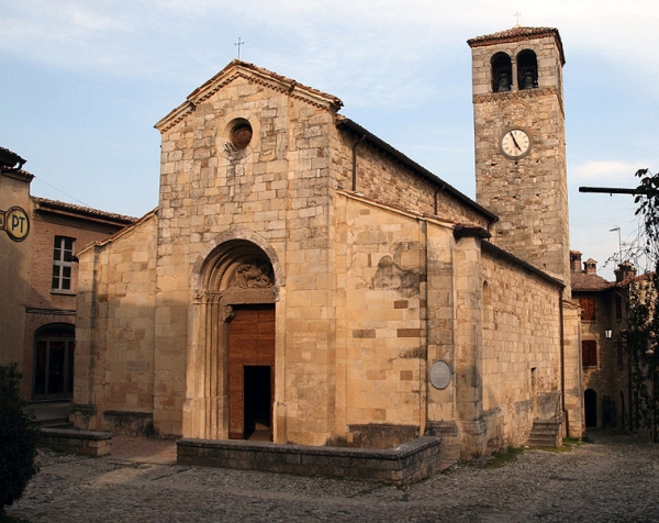 Parish Church of San Giorgio at Vigoleno