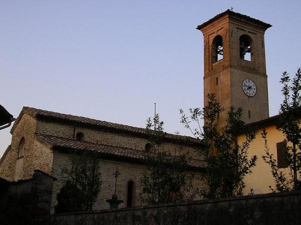 Eglise paroissiale des SS Ippolito et Cassiano à Gaione