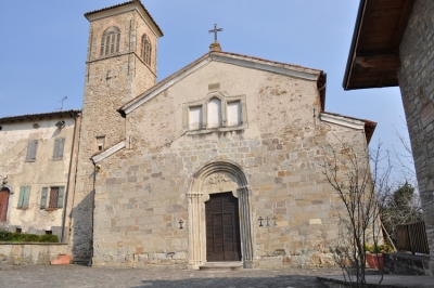 Eglise paroissiale de Sant'Apollinare à Coscogno