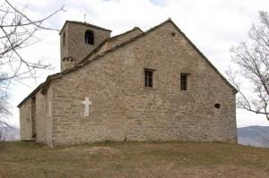 Eglise paroissiale de Tizziano à Val Parma