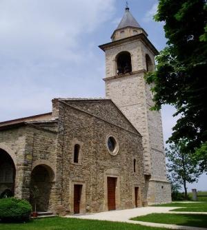 Eglise paroissiale de Sant'Ambrogio à Bazzano