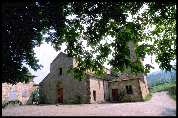 The Parish Church of Santa Maria Assunta at Rubbiano