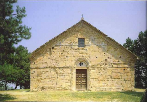 L'église paroissiale de Toano