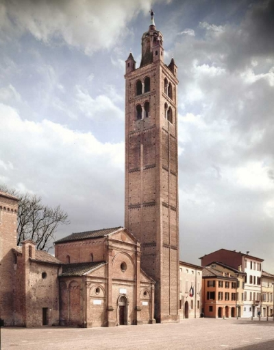 L'église paroissiale de Santa Maria in Castello à Carpi (aussi appelée la Sagra)