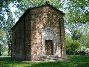 L'église paroissiale de San Giorgio à Argenta